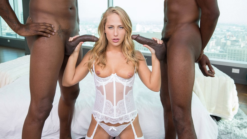 Carter Cruise, Flash Brown, Jason Brown - Blacked - AfricanBlacked.com