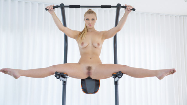 Layna Landry in  Fit Babe Gets BBC From Trainer - blacked.com
