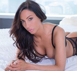 Tiffany Brookes in  New York Escort Gets Facial From Big Black Cock - blacked.com