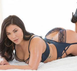 London Keyes in  Open Position - blacked.com